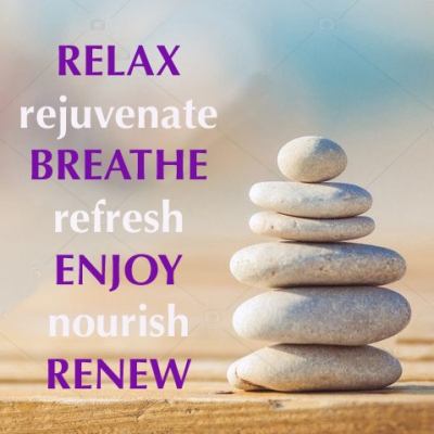 Relax, rejuvenate...
